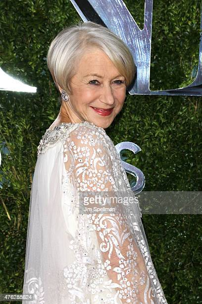 Helen Mirren attends the American Theatre Wing's 69th Annual Tony Awards at Radio City Music Hall on June 7 2015 in New York City