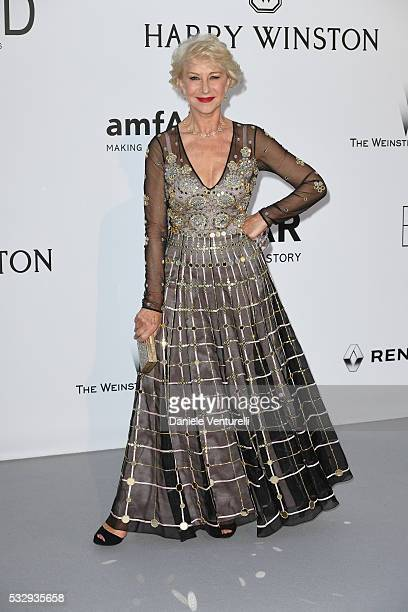 Helen Mirren attends the amfAR's 23rd Cinema Against AIDS Gala at Hotel du CapEdenRoc on May 19 2016 in Cap d'Antibes