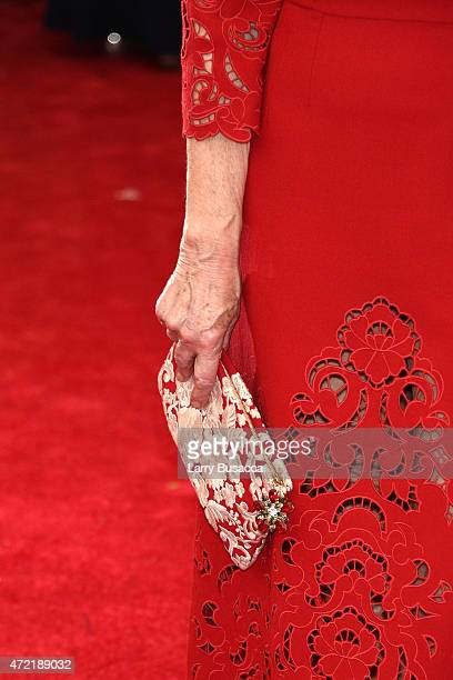 Helen Mirren attends the China Through The Looking Glass Costume Institute Benefit Gala at the Metropolitan Museum of Art on May 4 2015 in New York...