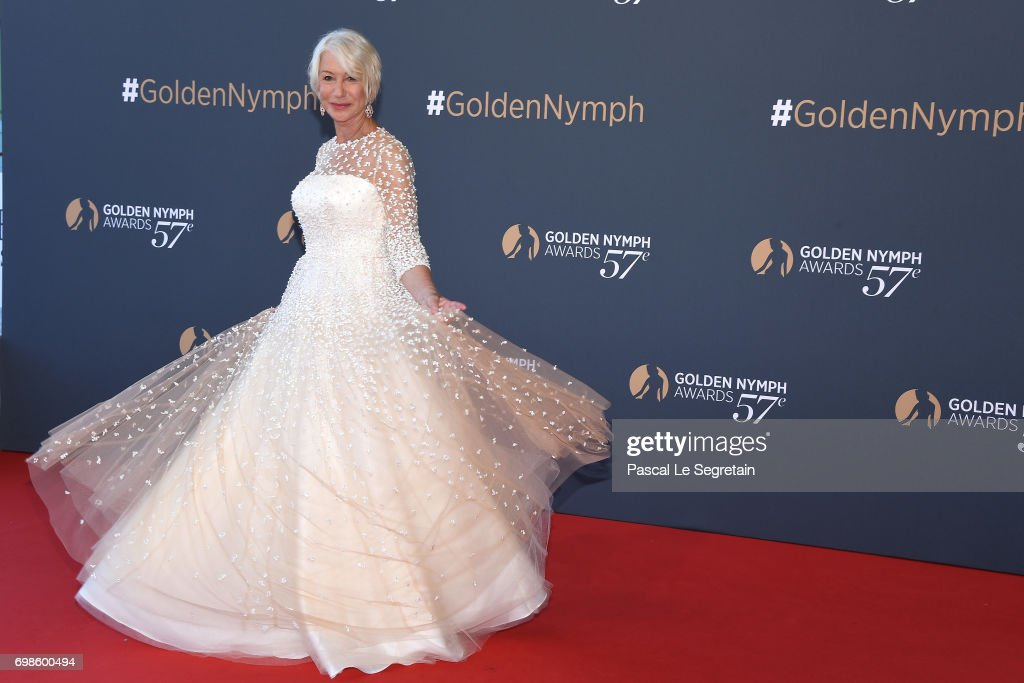 Helen Mirren attends the Closing ceremony of the 57th Monte Carlo TV Festival on June 20, 2017 in Monte-Carlo, Monaco.