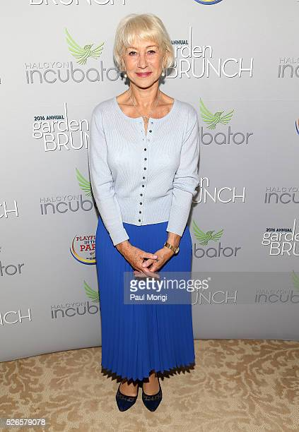 Helen Mirren attends the Garden Brunch prior to the 102nd White House Correspondents' Association Dinner at the BeallWashington House on April 30...