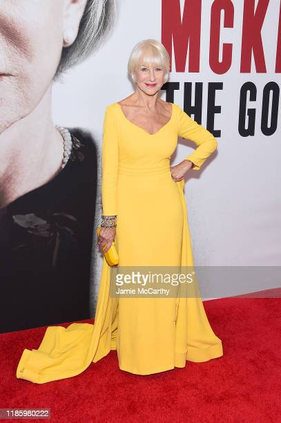 Helen Mirren attends The Good Liar New York Premiere on November 06 2019 in New York City