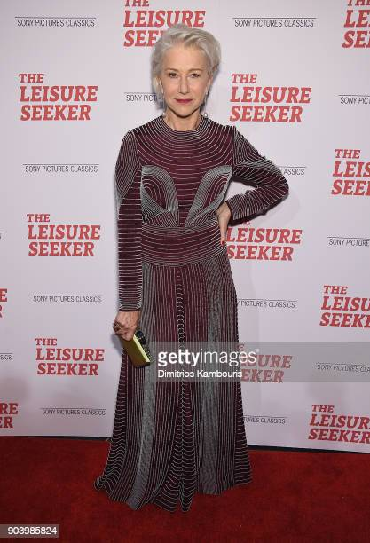 Helen Mirren attends 'The Leisure Seeker' New York Screening at AMC Loews Lincoln Square on January 11 2018 in New York City