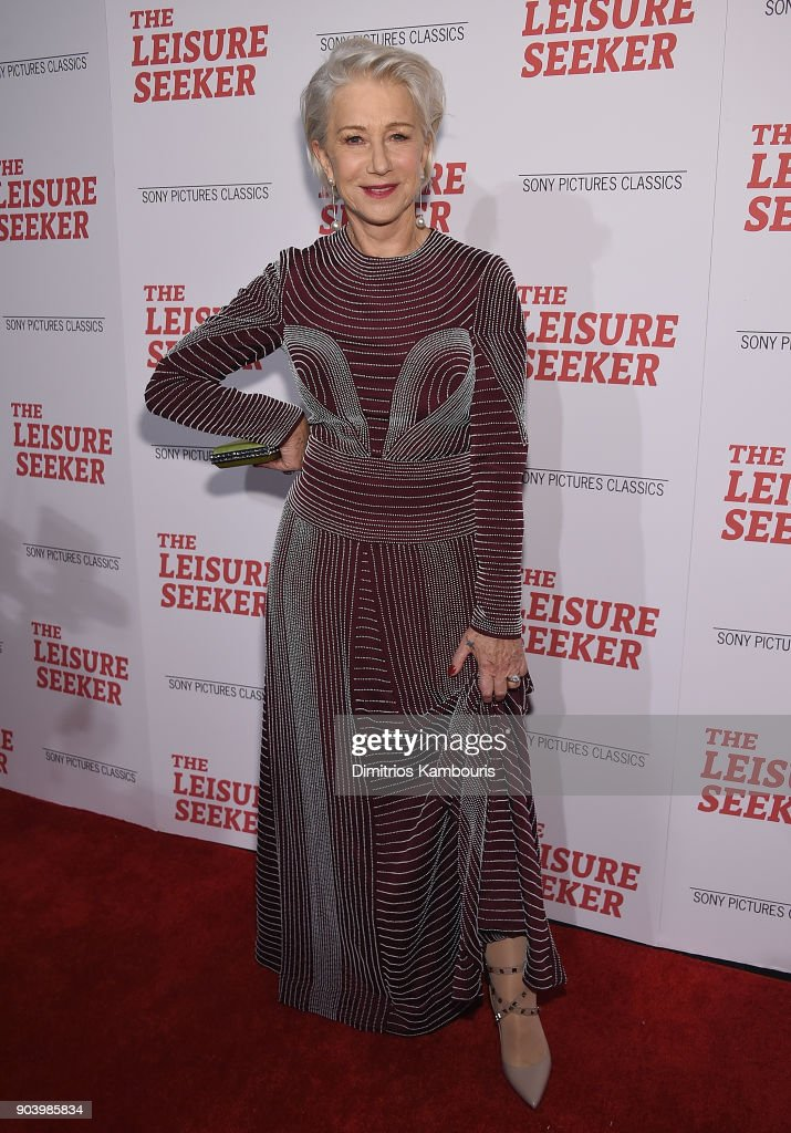 """The Leisure Seeker"" New York Screening"