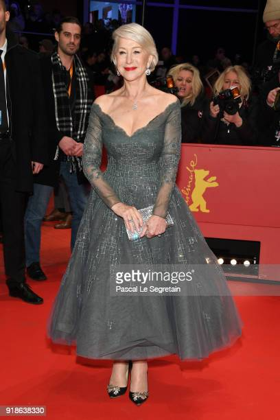 Helen Mirren attends the Opening Ceremony 'Isle of Dogs' premiere during the 68th Berlinale International Film Festival Berlin at Berlinale Palace on...
