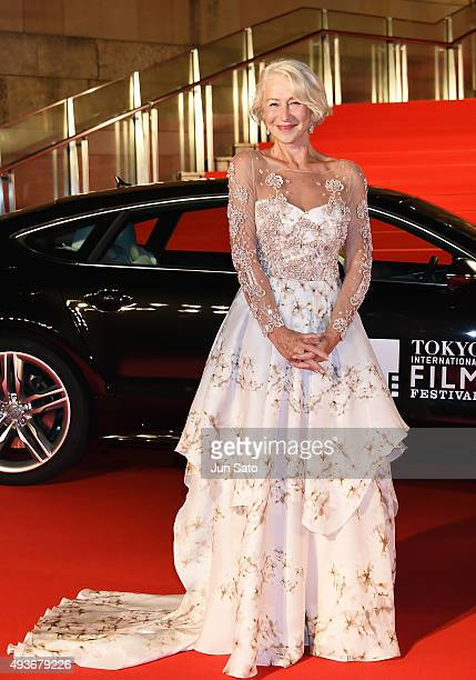Helen Mirren attends the opening ceremony of the Tokyo International Film Festival 2015 at Roppongi Hills on October 22, 2015 in Tokyo, Japan.