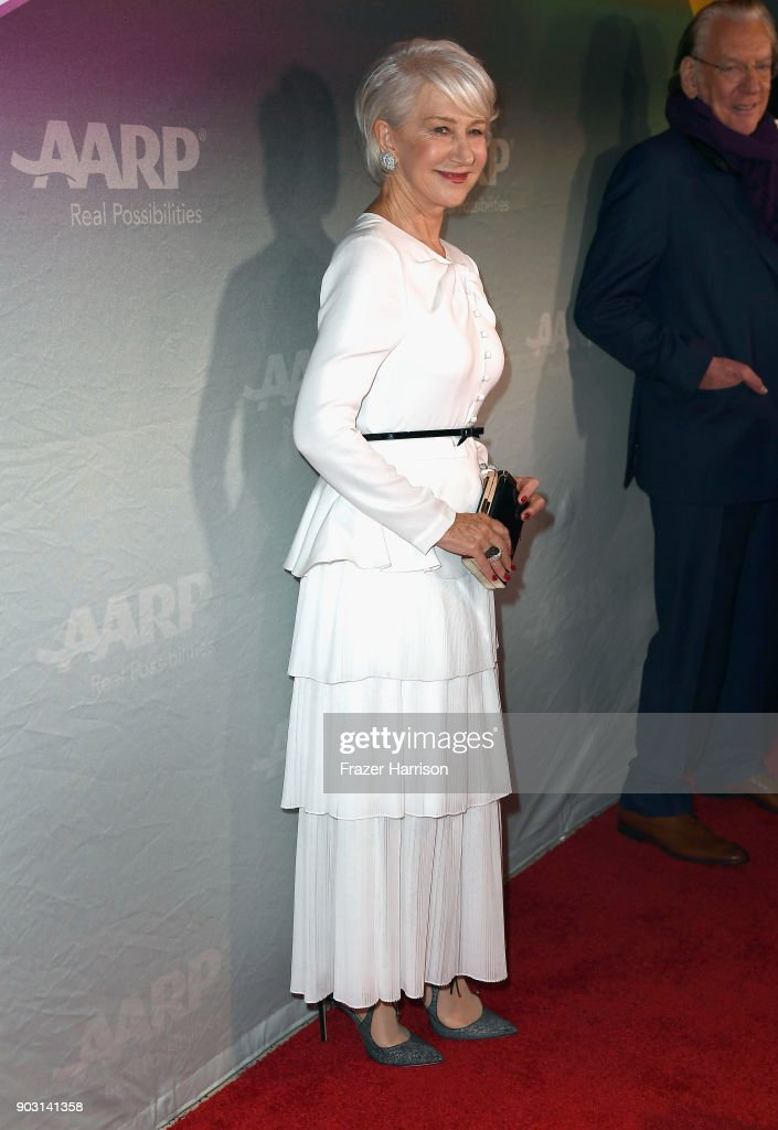 Helen Mirren attends the premiere of Sony Pictures Classics' 'The Leisure Seeker' at Pacific Design Center on January 9, 2018 in West Hollywood, California.