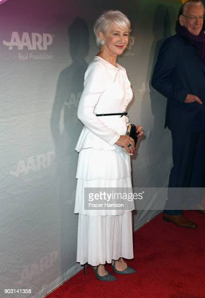 Helen Mirren attends the premiere of Sony Pictures Classics' 'The Leisure Seeker' at Pacific Design Center on January 9 2018 in West Hollywood...
