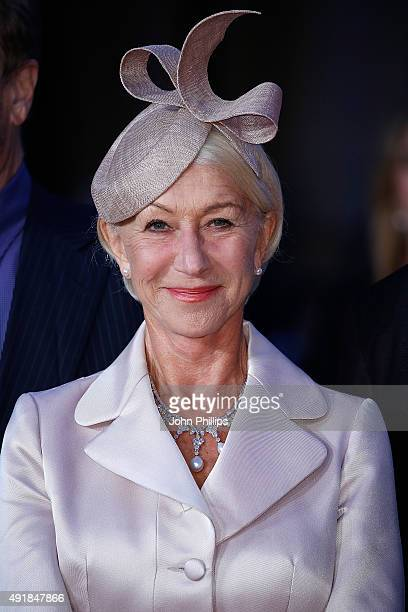 Helen Mirren attends The 'Trumbo' Accenture Gala during BFI London Film Festival at Odeon Leicester Square on October 8 2015 in London England