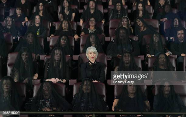 Helen Mirren attends The 'Winchester' Nationwide Psychic Reading in support of the film's opening on February 1 2018 in Los Angeles California