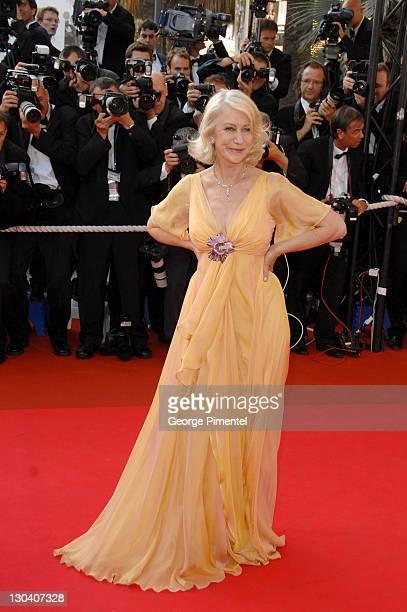 Helen Mirren during 2007 Cannes Film Festival 'Chacun Son Cinema' All Directors Premiere at Palais des Festival in Cannes France