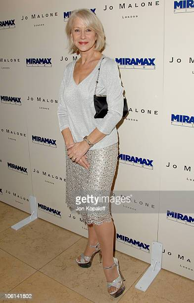 Helen Mirren during Miramax Films 2007 PreOscar Party at Sunset Tower Hotel in West Hollywood CA United States