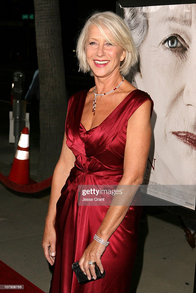 Helen Mirren during 'The Queen' Los Angeles Premiere - Arrivals at Academy of Motion Picture Arts and Sciences in Beverly Hills, California, United States.
