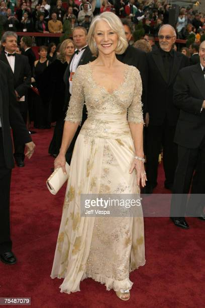 Helen Mirren nominee Best Actress in a Leading Role for The Queen at the Kodak Theatre in Los Angeles California