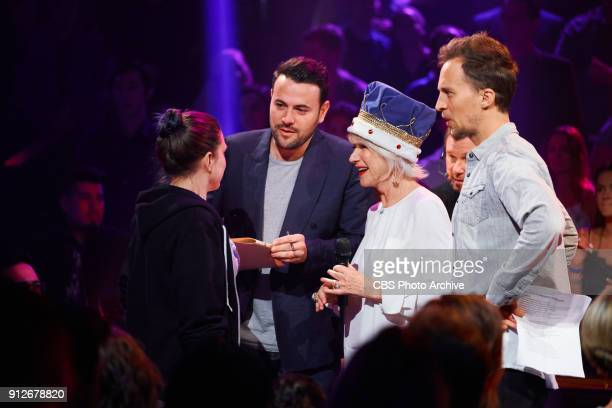 "Helen Mirren performs in Drop The Mic with James Corden during ""The Late Late Show with James Corden,"" Tuesday, January 30, 2018 On The CBS..."