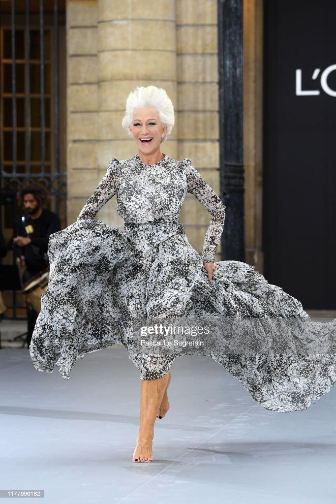 """""""Le Defile L'Oreal Paris"""" : Runway - Paris Fashion Week - Womenswear Spring Summer 2020 : News Photo"""