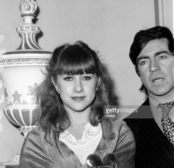 Helen Mirren With Alan Bates