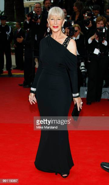 Helen Mirrenattends the Opening Night Premiere of 'Robin Hood' at the Palais des Festivals during the 63rd Annual International Cannes Film Festival...
