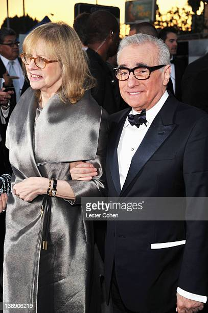 Helen Morris and director Martin Scorcese arrive at the 17th Annual Critics' Choice Movie Awards held at The Hollywood Palladium on January 12 2012...