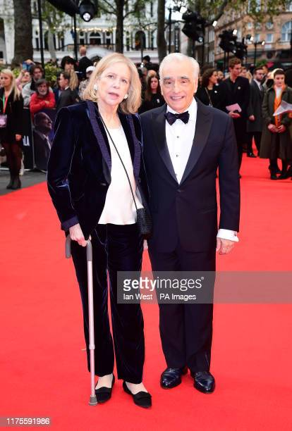 Helen Morris and Martin Scorsese attending the Closing Gala and International premiere of The Irishman held as part of the BFI London Film Festival...