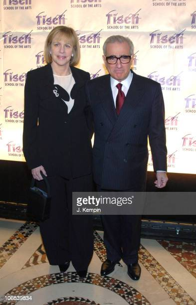 Helen Morris and Martin Scorsese during NYU's Tisch School of The Arts and The Kanbar Institute of Film and Television Filmmakers Gala at Cipriani's...