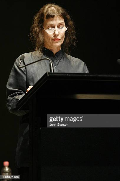 Helen Morse during Readings of Samuel Beckett's Poetry and Prose During The Gate Theatre's Beckett Season January 16 2007 at The Gate Theatre in...