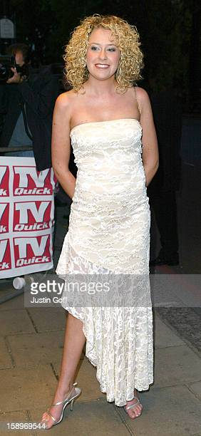 Helen Noble Attends The 2003 'Tv Quick Awards' At The Dorchester In London