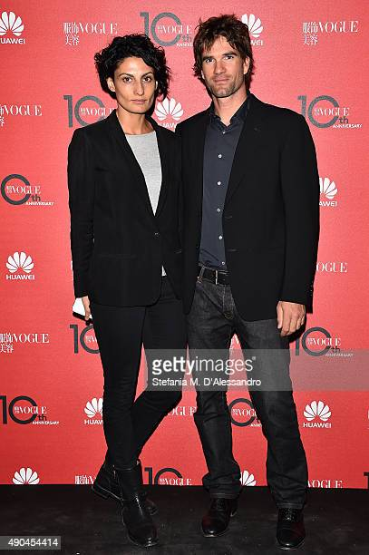 Helen Nonini attends Vogue China 10th Anniversary at Palazzo Reale on September 28 2015 in Milan Italy
