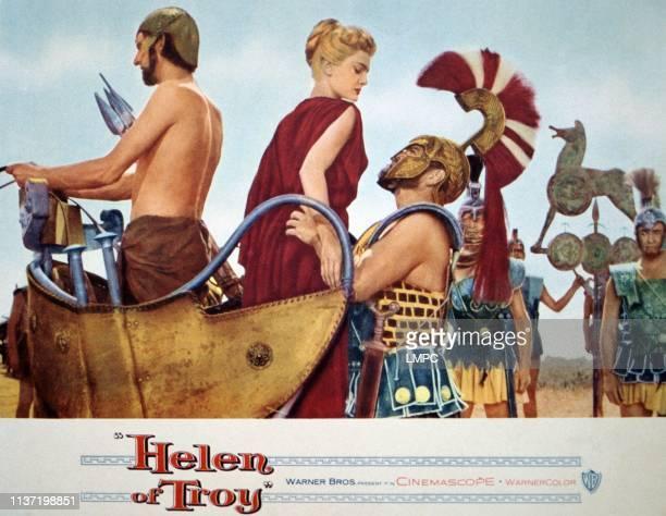 Helen Of Troy lobbycard Rossana Podesta Stanley Baker 1956