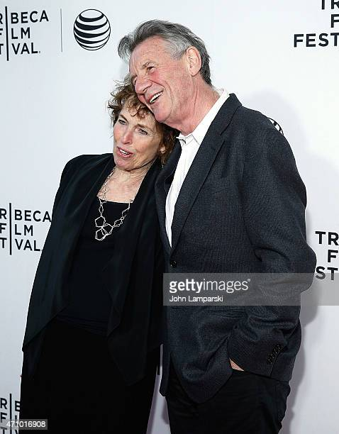 Helen Palin and Michael Palin attend Special Screening Narrative Monty Python And The Holy Grail during the 2015 Tribeca Film Festival at Beacon...
