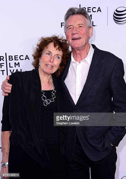 Helen Palin and Michael Palin attend the Monty Python And The Holy Grail Special Screening during the 2015 Tribeca Film Festival at Beacon Theatre on...