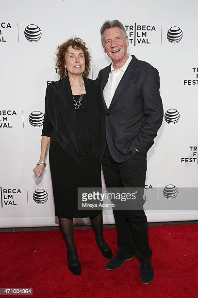 Helen Palin and Michael Palin attend the Special Screening Narrative Monty Python And The Holy Grail during 2015 Tribeca Film Festival at Beacon...