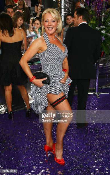 Helen Pearson arrives for the British Soap Awards 2008 at BBC Television Centre on May 3 2008 in London England