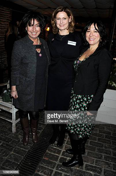 Helen Scott Lidgett Sarah Brown and Arabella Weir attend the book launch for Sarah Brown's new memoir about life at 10 Downing Street 'Behind The...