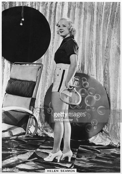 Helen Seamon American film actress c1938 Helen Seamon made 12 film appearances in the 1930s and 1940s all of them uncredited Modern Beauties 3rd...