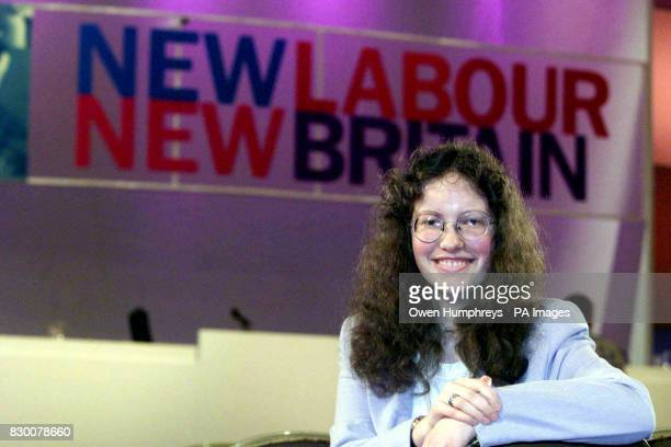Helen Searle aged 15 who took to the platform at the Labour Party Conference in Blackpool