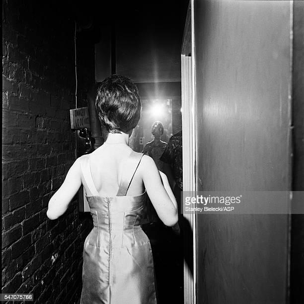 Helen Shapiro backstage in Oldham United Kingdom 1965