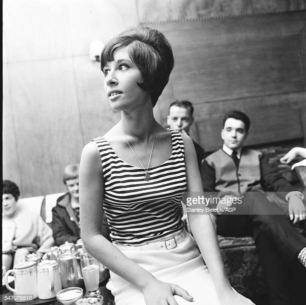 Helen Shapiro in a Manchester hotel United Kingdom 1965