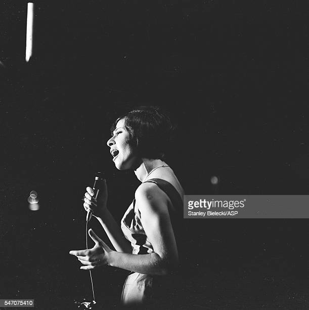 Helen Shapiro performs in Oldham United Kingdom 1965