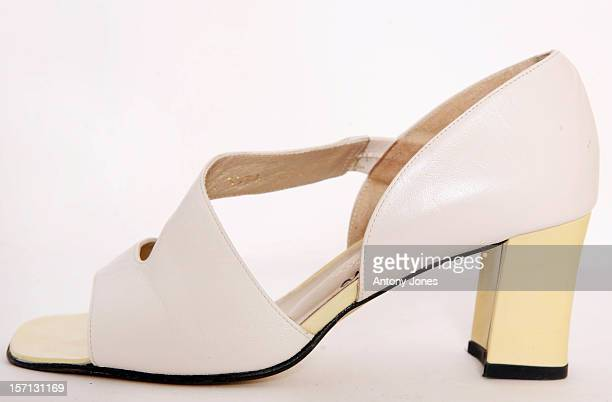 Helen Shapiro'S Shoes Pictured For Mines Advisory Group Celebrity Shoe Auction To Support Landmine Victims In London