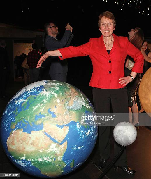 Helen Sharman attends the opening of the Science Museum's new interactive gallery 'Wonderlab' on October 11 2016 in London England