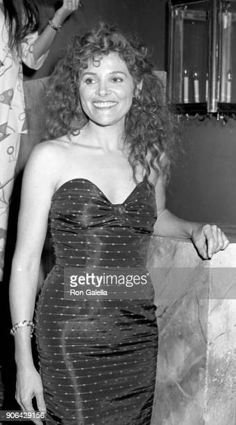 Helen Shaver attends The Believers Premiere on June 8 1987 at the Ziegfeld Theater in New York City