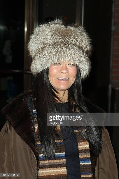 """Helen Shifter attends the Cinema Society Screening of """"No Strings Attached"""" at the Tribeca Grand Hotel on January 20, 2011 in New York City."""