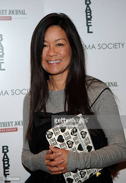 """Helen Shifter during The Cinema Society and The Wall Street Journal Weekend Edition Host a Screening of """"Babel"""" - Outside Arrivals at Tribeca Grand..."""