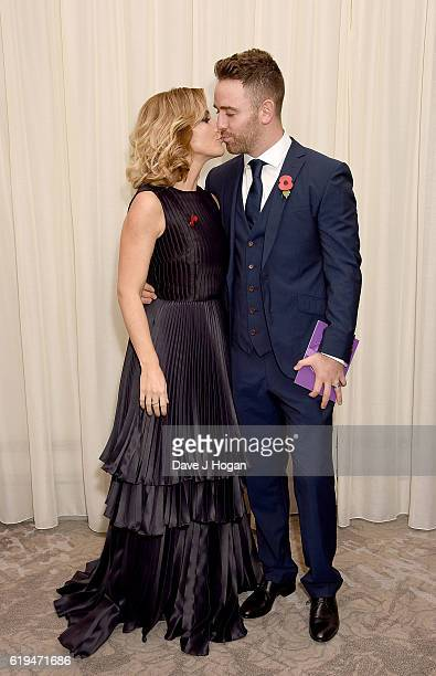 Helen Skelton and Richie Myler attend the Daily Mirror Pride of Britain Awards in Partnership with TSB at The Grosvenor House Hotel on October 31...