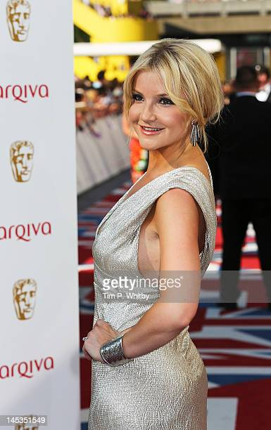 Helen Skelton attends The 2012 Arqiva British Academy Television Awards at the Royal Festival Hall on May 27 2012 in London England