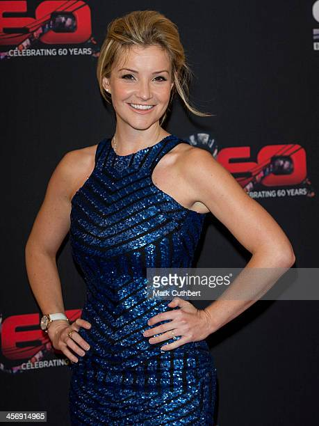 Helen Skelton attends the BBC Sports Personality of the Year Awards at First Direct Arena on December 15 2013 in Leeds England