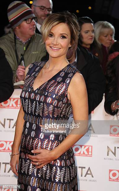 Helen Skelton attends the National Television Awards at The O2 Arena on January 25 2017 in London England