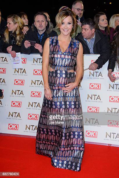 Helen Skelton attends the National Television Awards on January 25 2017 in London United Kingdom