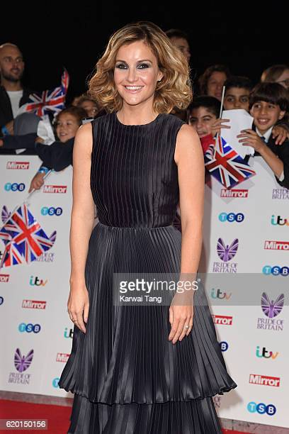Helen Skelton attends the Pride Of Britain Awards at The Grosvenor House Hotel on October 31 2016 in London England